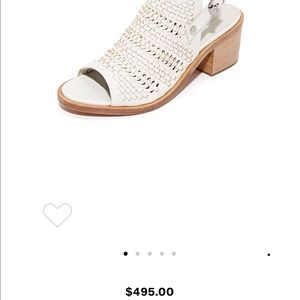 Rag and bone mid heel sandals
